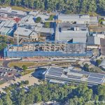 Aerial photograph of the CHHC Expansion foundation