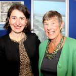Consumer Representative with Gladys Berejiklian at the opening of the CHHC Expansion