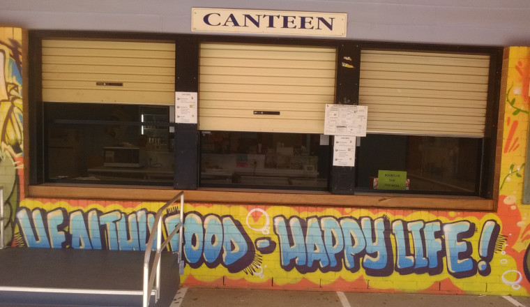 Canteen storefront