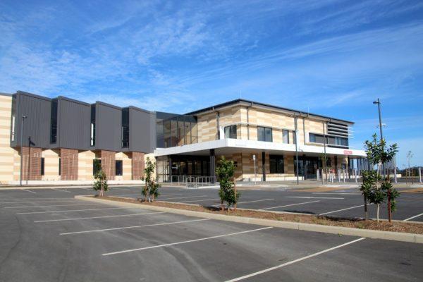 Macksville District hospital entrance