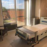 Hospital bed at Macksville District Hospital