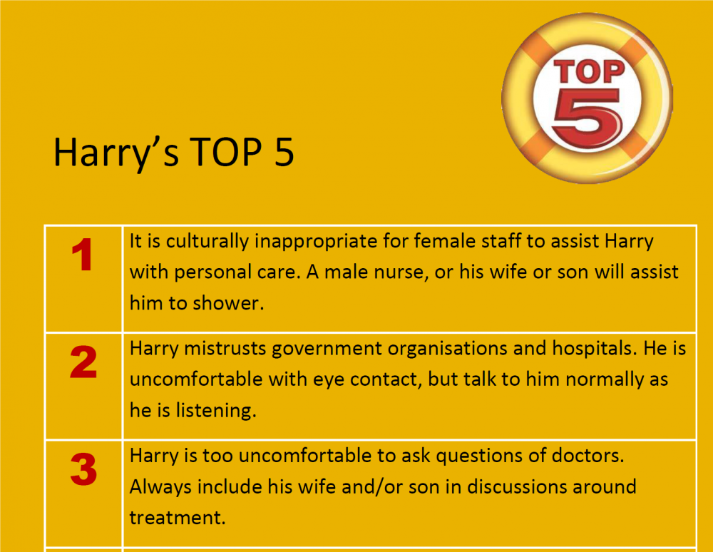 Harry's TOP 5