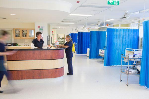 nurses station in ward